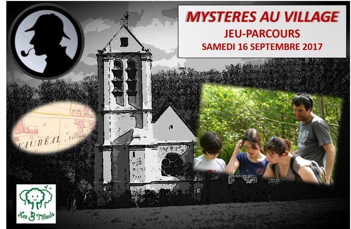 Journées du patrimoine 2017 - Mystères au village !  Jeu-parcours historique