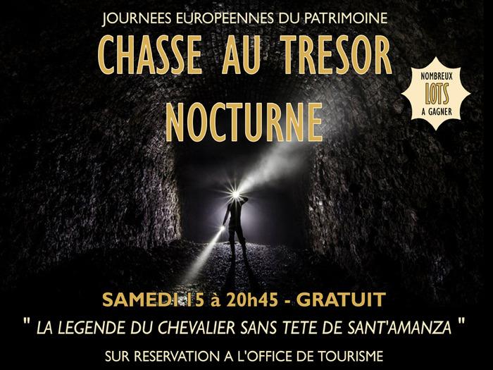 Journées du patrimoine 2018 - Chasse au trésor nocturne