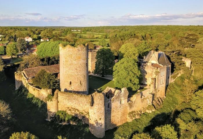 Journées du patrimoine 2018 - Visite commentée du château de Montreuil Bonnin