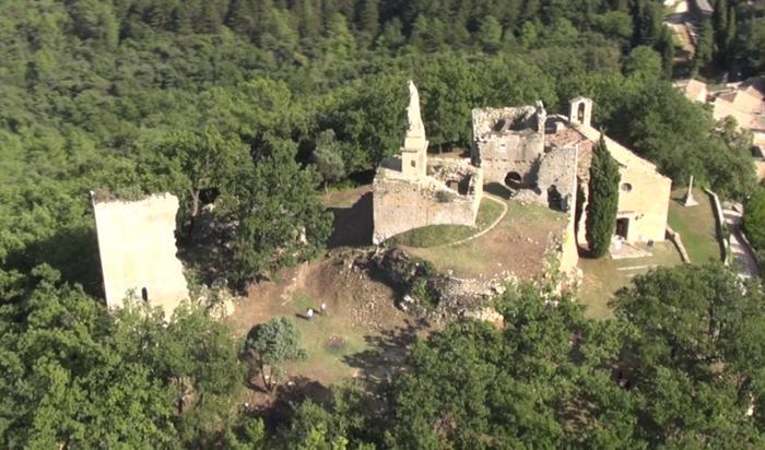 Journées du patrimoine 2017 - Château de Sabran et église castrale Sainte-Agathe