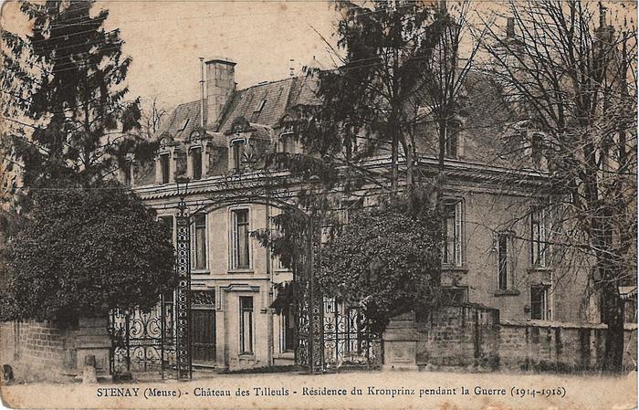 Crédits image : Archives municipales de Stenay