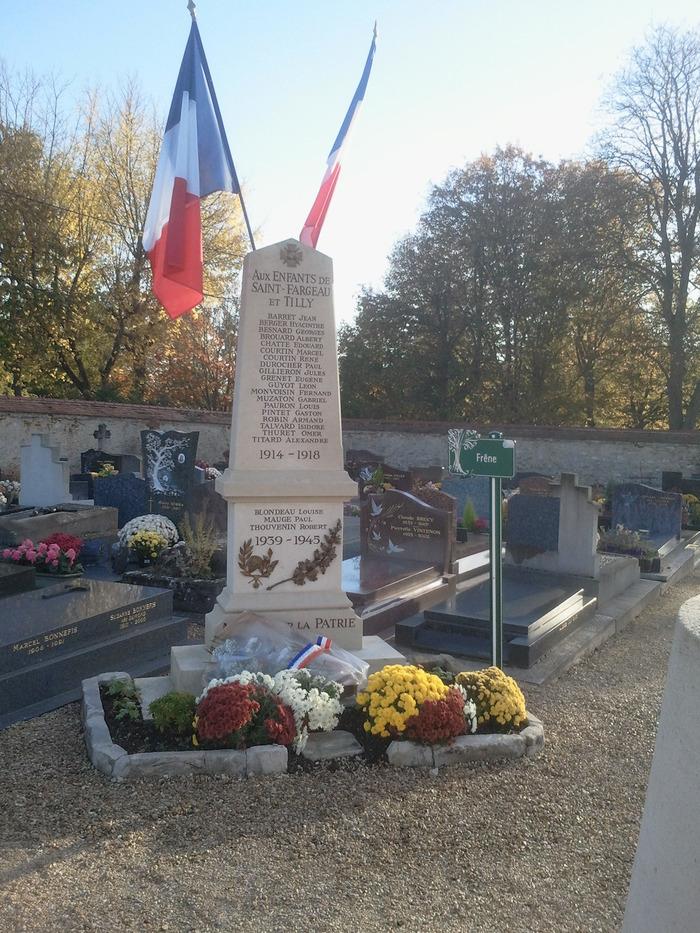 Journées du patrimoine 2018 - Chemin de mémoire des Poilus et grandes figures de Saint-Fargeau-Ponthierry