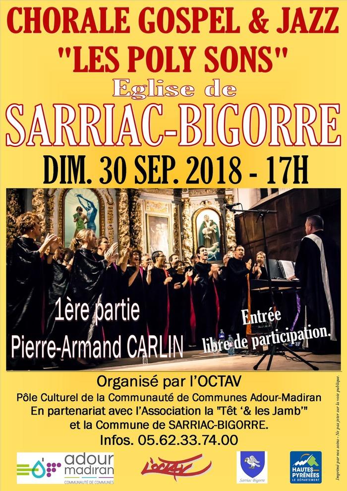 Chorale GOSPEL & JAZZ à l'Eglise de SARRIAC-BIGORRE
