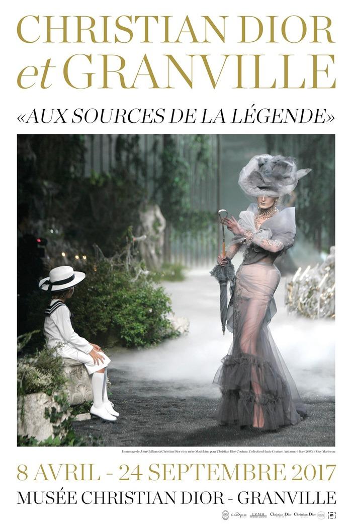 Journées du patrimoine 2017 - Christian Dior et Granville - Aux sources de la légende
