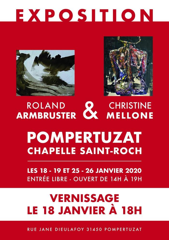 Présentation des oeuvres de Christine Mellone et Roland Armbruster
