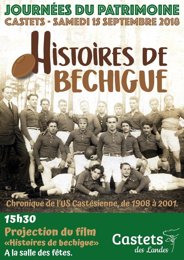 Journées du patrimoine 2018 - Chronique de L'Union Sportive Castésienne de 1908 à 2001