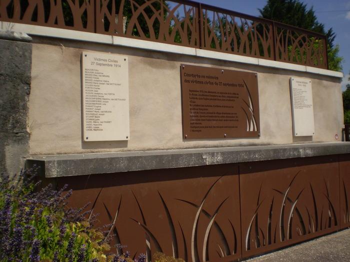 Journées du patrimoine 2018 - Cimetière de Dompierre-aux-Bois