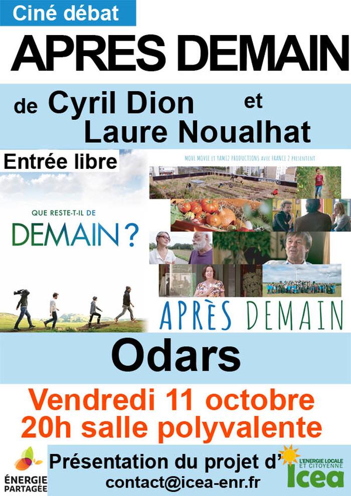 Ciné débat : Après Demain de Cyril Dion