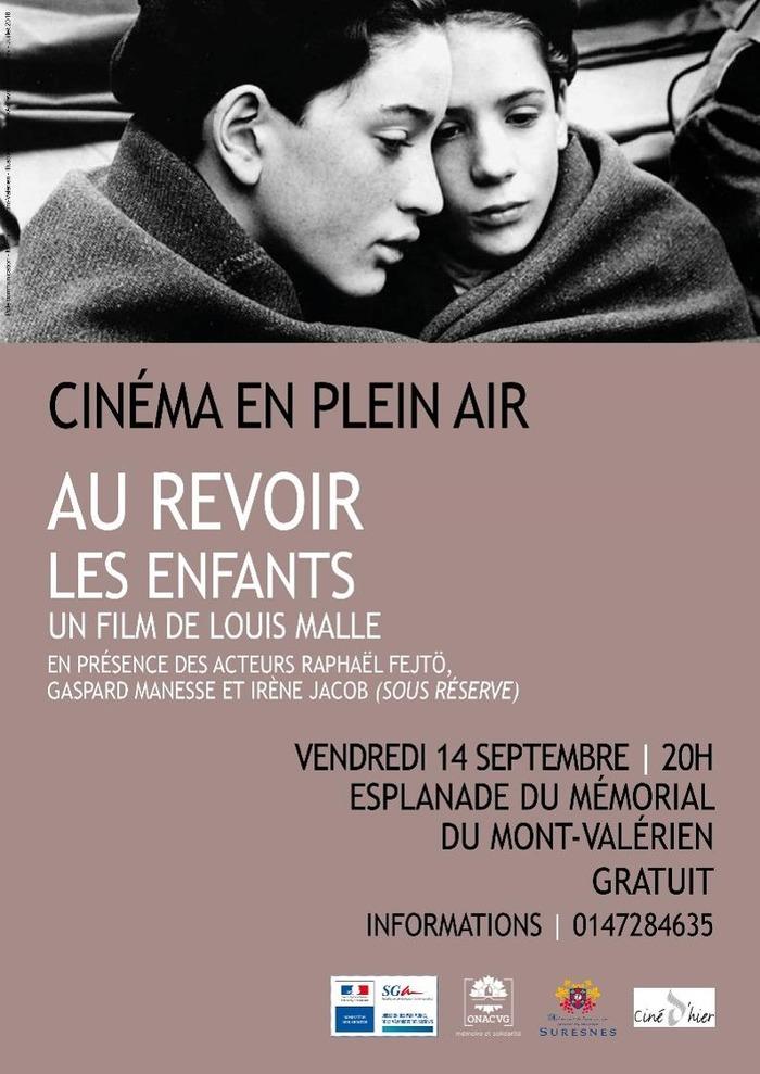 Journées du patrimoine 2018 - Cinéma en plein air | Au revoir les enfants