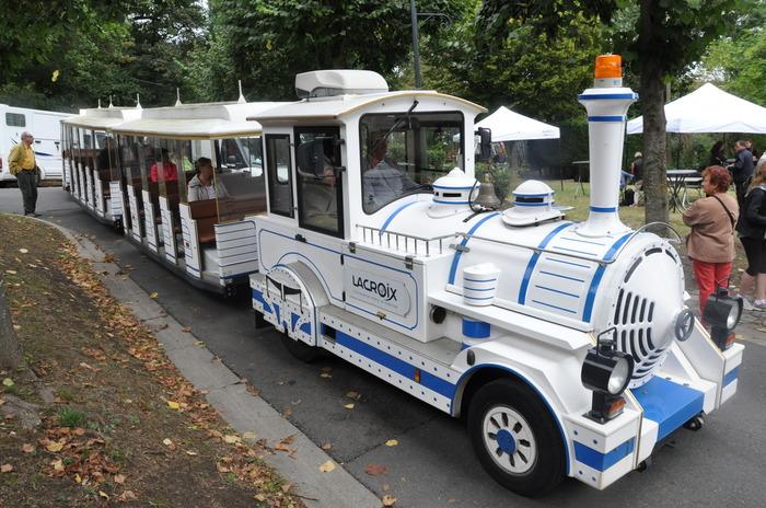 Journées du patrimoine 2018 - Circuit commenté en petit train touristique vers différents sites de la ville