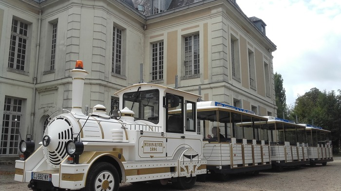 Journées du patrimoine 2018 - Le petit train de la mairie