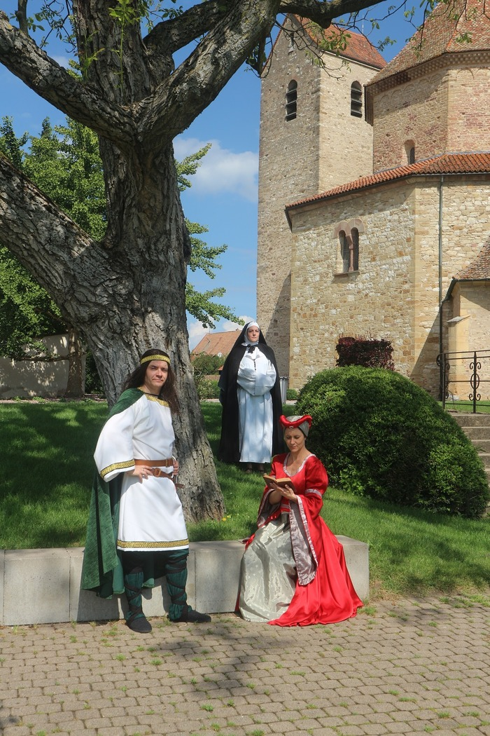 Journées du patrimoine 2017 - Circuit découverte de l'Abbaye d'Ottmarsheim
