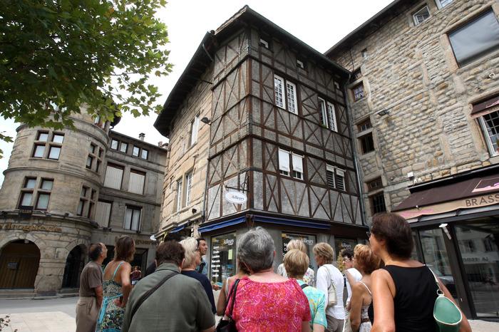Journées du patrimoine 2018 - Circuit découverte du centre-ville de Saint-Étienne.