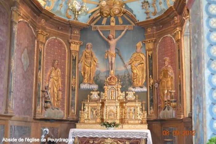 Journées du patrimoine 2018 - Circuit des églises restaurées de Pouydraguin et Tasque