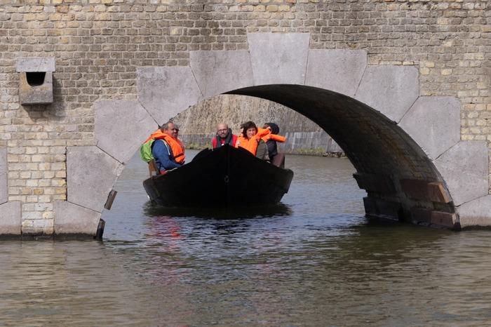 Journées du patrimoine 2018 - Circuit guidé en bateau à passagers autour des fortifications