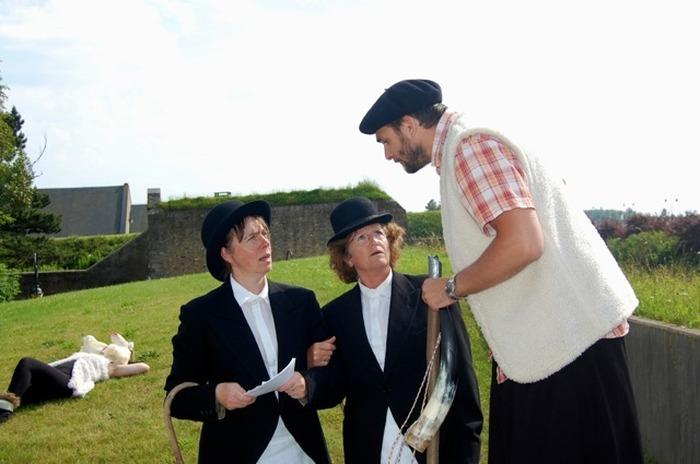 Journées du patrimoine 2018 - Circuit Rando-Théâtre avec l'Amateur Turbulent