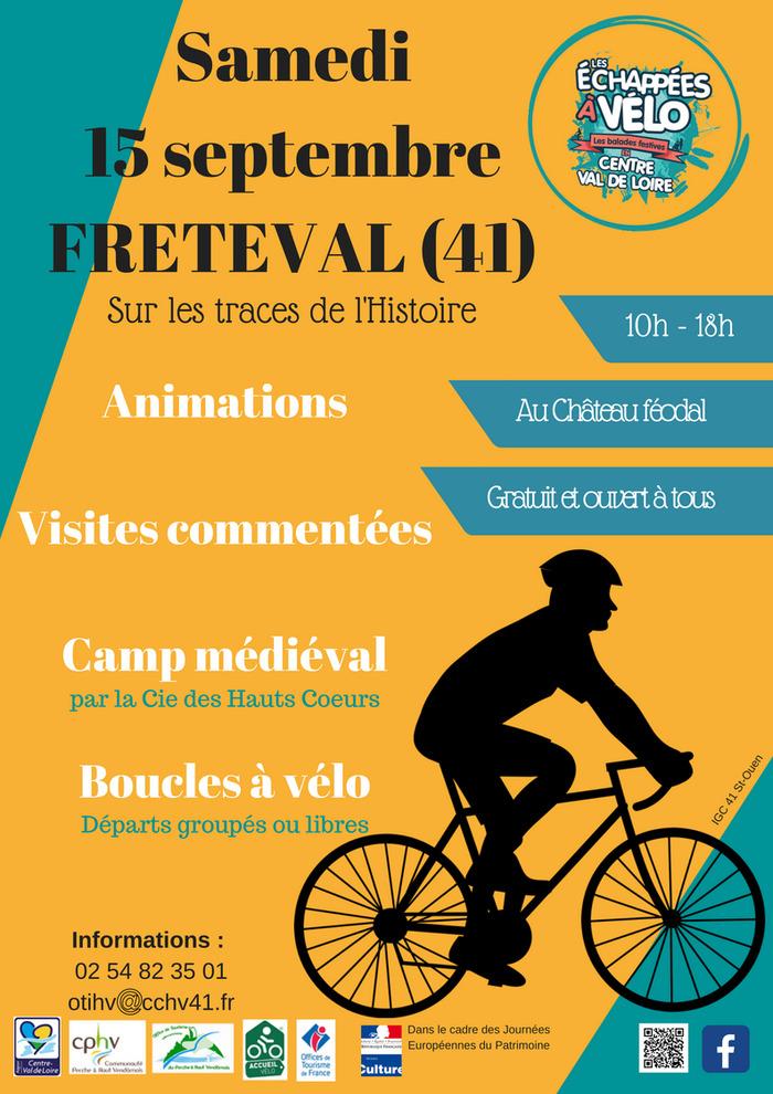 Journées du patrimoine 2018 - Circuits à vélo