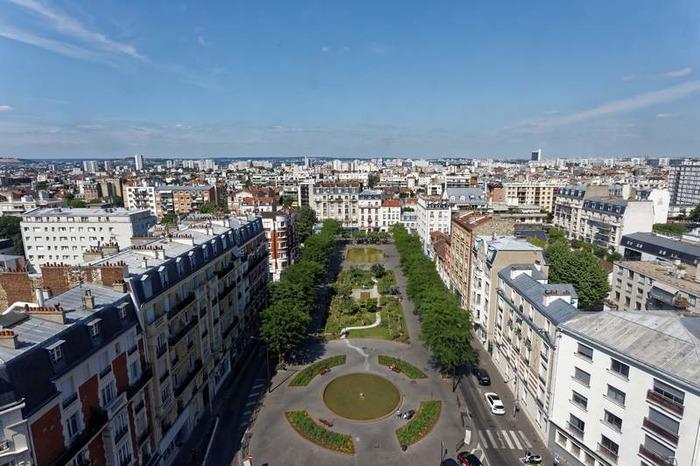 Crédits image : La place de la République, Ville de Bois-Colombes - Studio des Bourguignons/Richard Loret