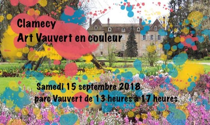 Journées du patrimoine 2018 - Clamecy Art Vauvert en Couleur(s)
