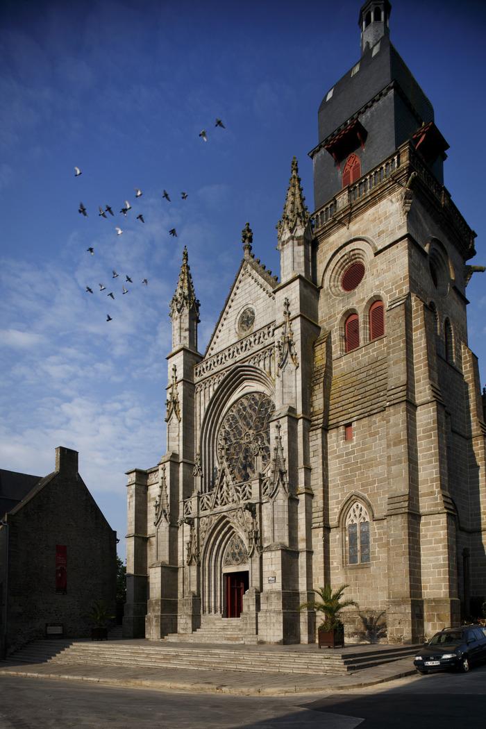 Journées du patrimoine 2018 - Clocher de l'église Saint-Léonard - Fougères
