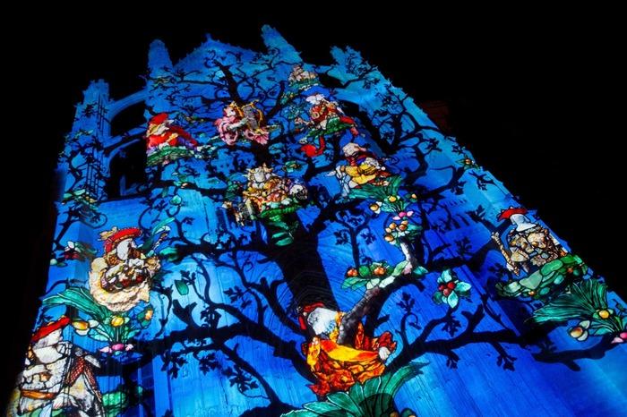 Journées du patrimoine 2018 - Clôture des spectacles « Beauvais, la cathédrale infinie » et « Horizons imaginaires »