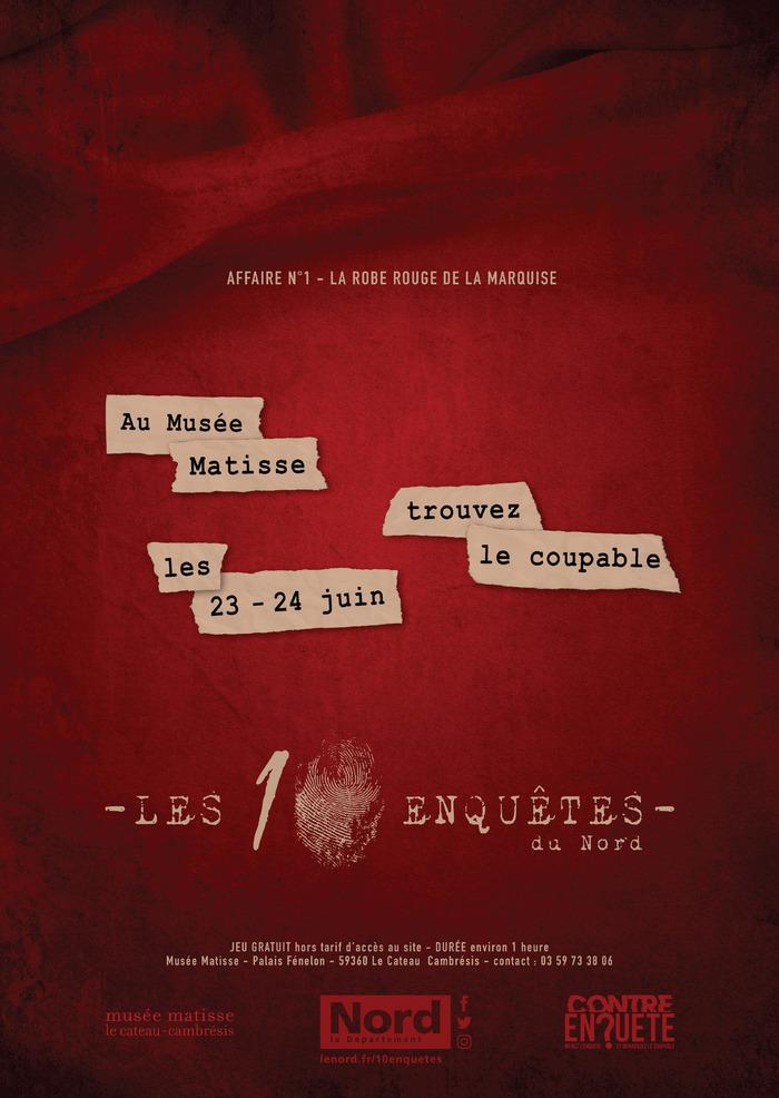 Journées du patrimoine 2018 - Cluedo géant,