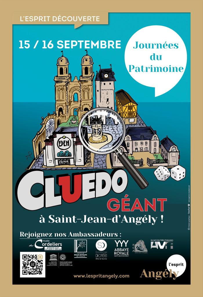 Journées du patrimoine 2018 - Cluedo géant