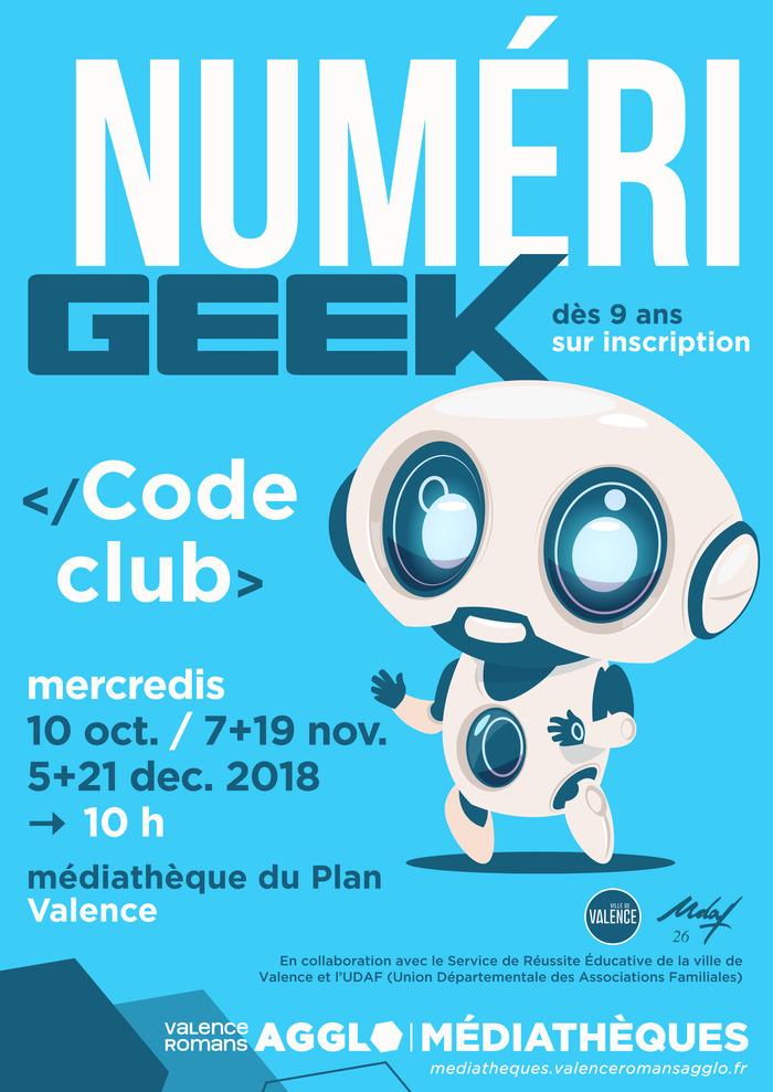 Code Club - Service de Réussite Educative/médiathèque du PLAN