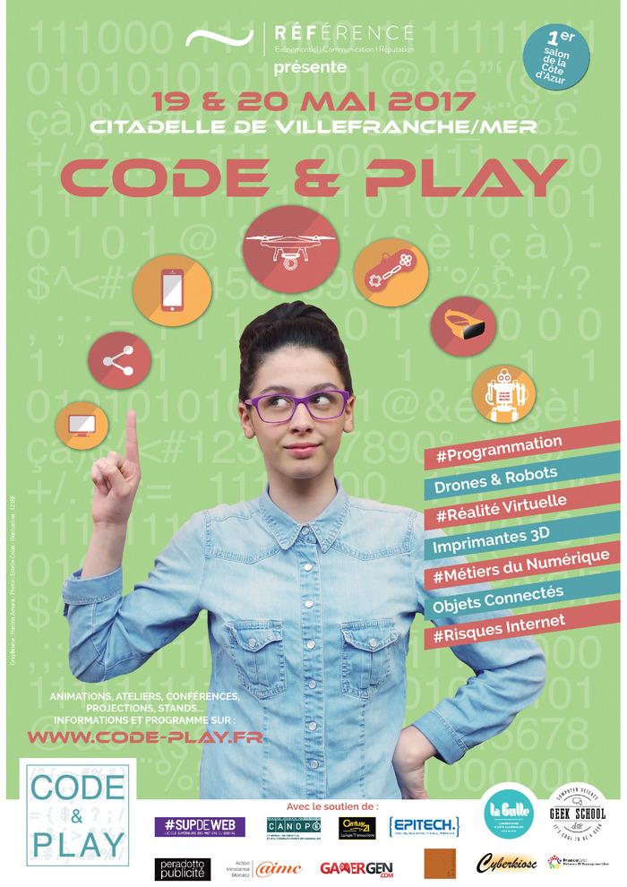 Code & Play - 19 & 20 mai 2017 à la Citadelle de Villefranche s/mer- EPITECH Nice