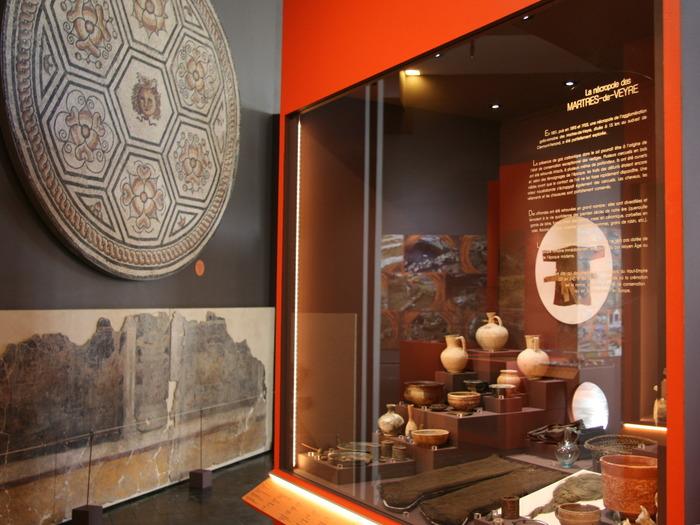 Journées du patrimoine 2018 - Exposition des collections permanentes du département archéologie.