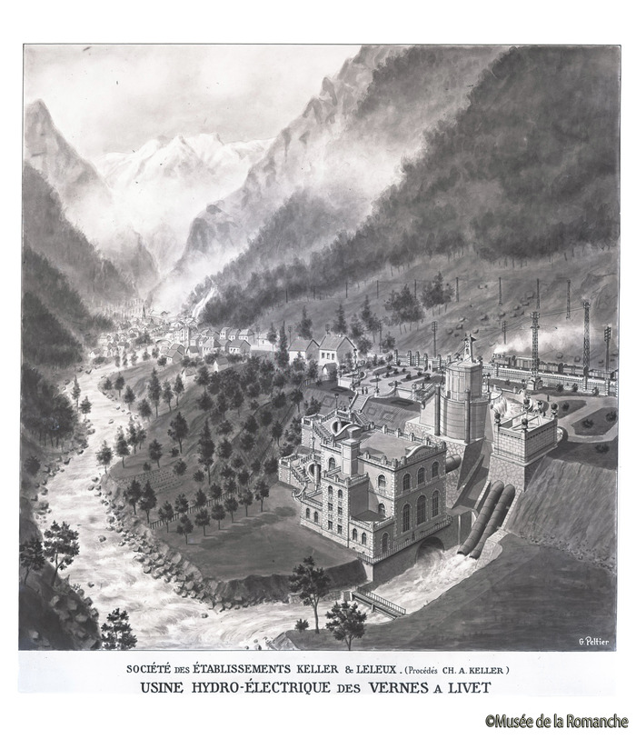 Journées du patrimoine 2018 - Commémoration du centenaire de la centrale des Vernes.
