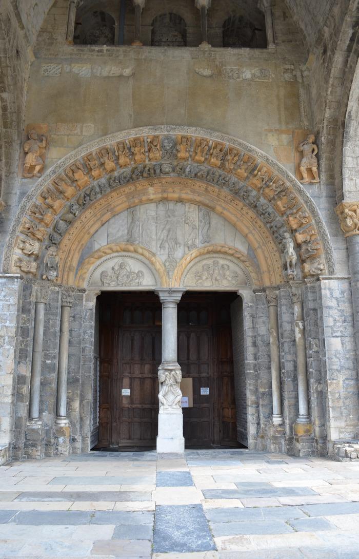 Journées du patrimoine 2018 - Commentaire du portail de la cathédrale Sainte-Marie