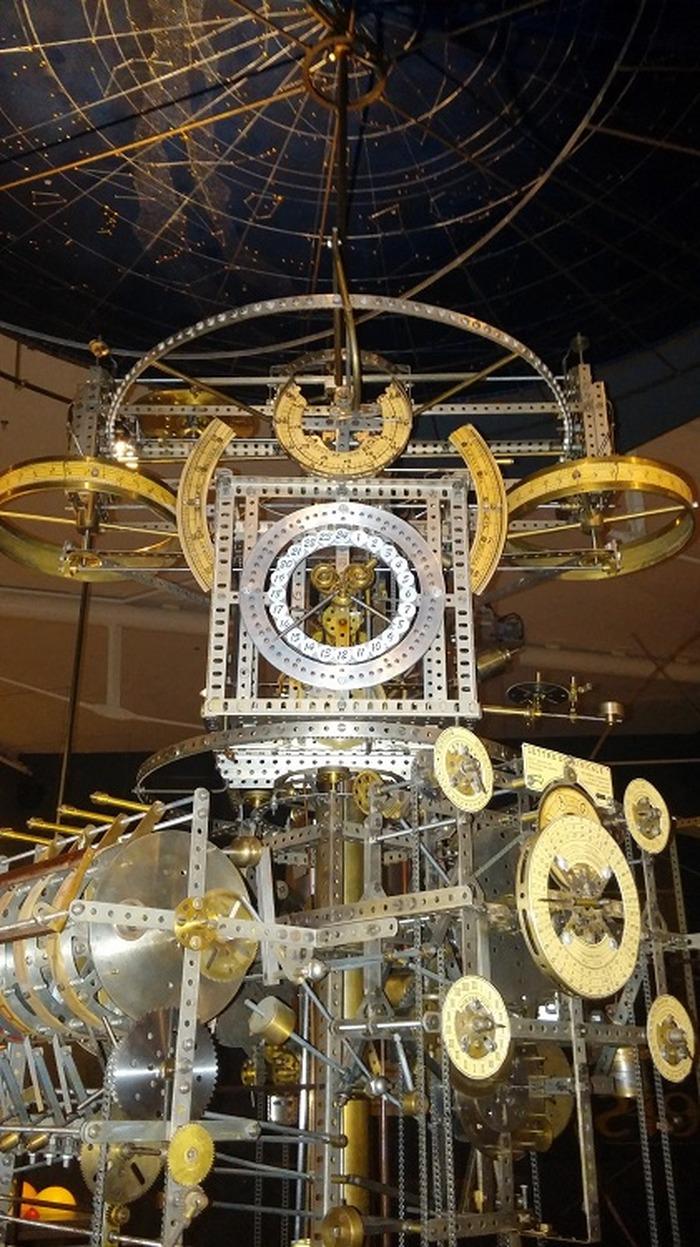 Journées du patrimoine 2018 - Commentaires sur l'horloge astronomique de Jean Legros