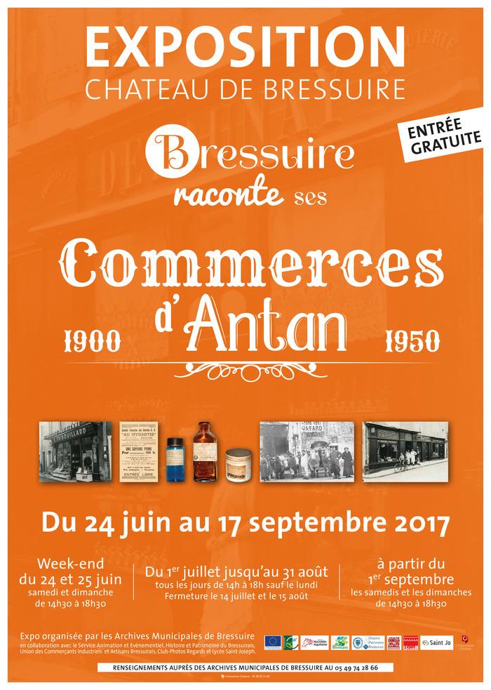 Journées du patrimoine 2017 - Exposition «Commerces d'Antan - 1900/1950»