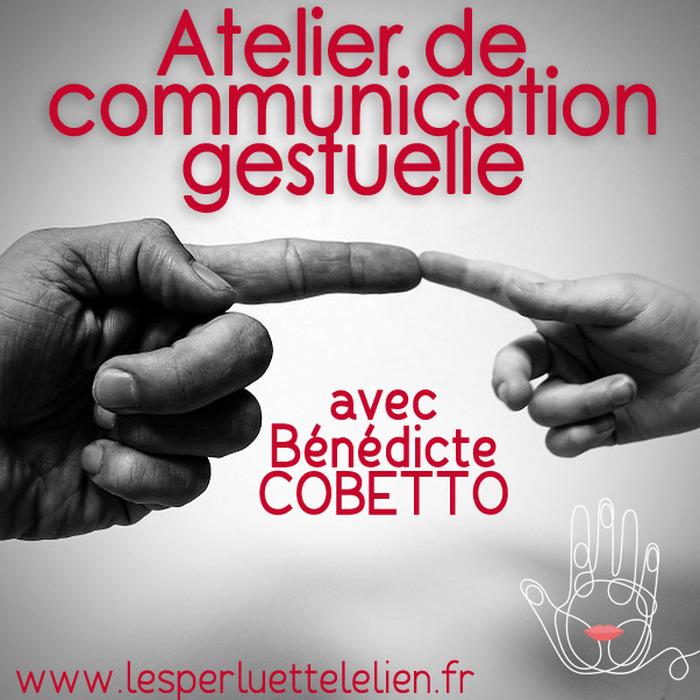 Communication gestuelle, approche de la langue des signes
