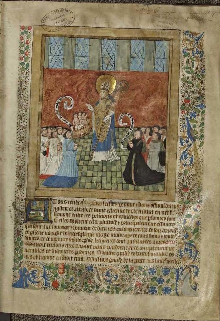 Crédits image : © Archives départementales du Calvados - Manuscrit G967