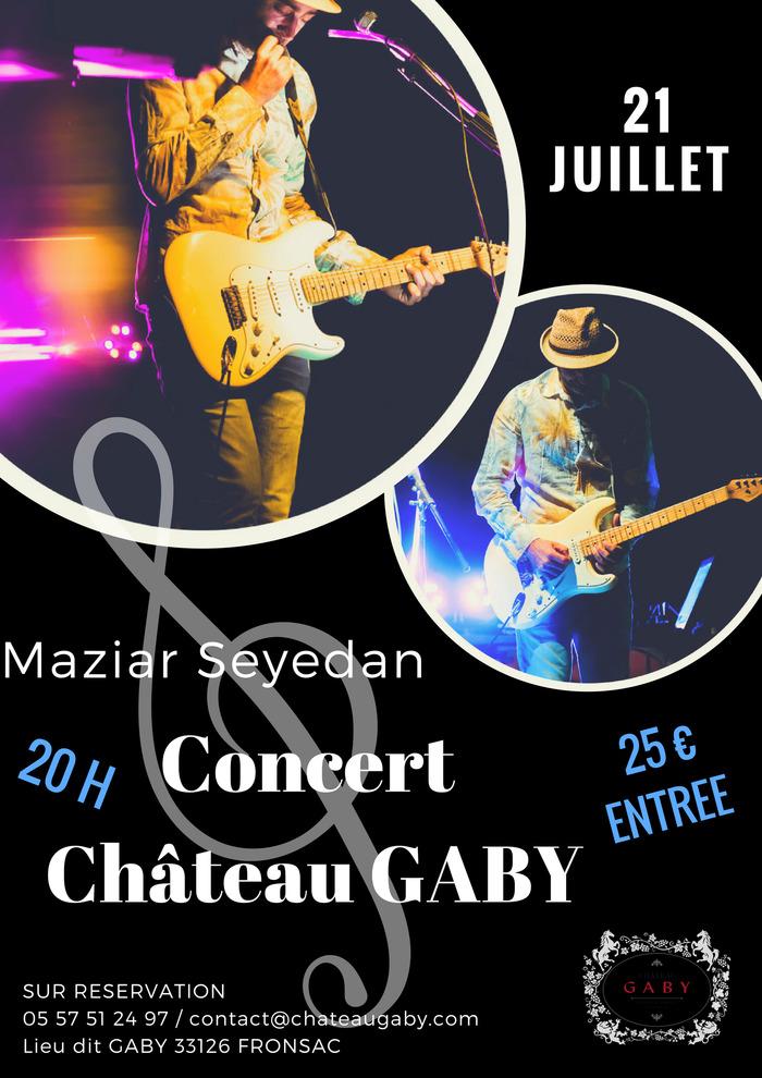 Concert au Château Gaby - Maziar Seyedan