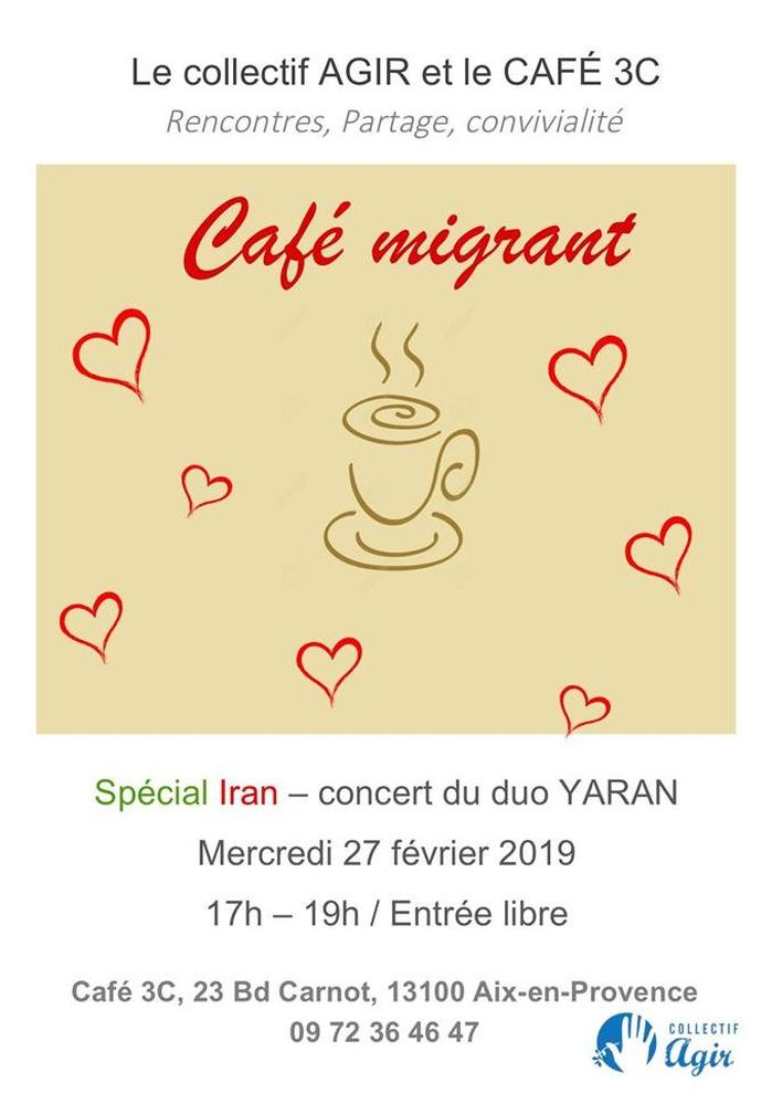 Concert Café migrant