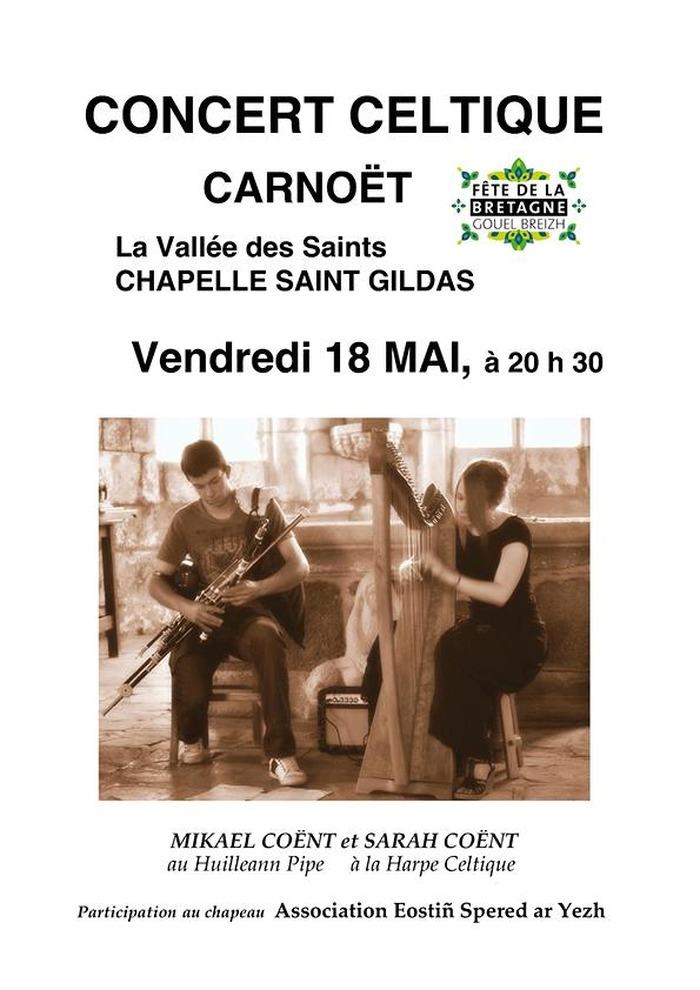 Concert celtique à Carnoët