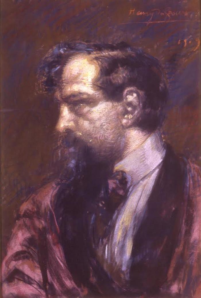 Crédits image : Henry de Groux : Portrait de Claude Debussy. Pastel, 1909. Saint-Germain-en-Laye, maison natale Claude-Debussy, inv. 992.2. Cl. L. Sully-Jaulmes
