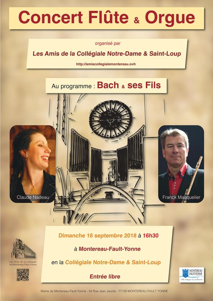 Journées du patrimoine 2018 - Concert d'orgue et flûte
