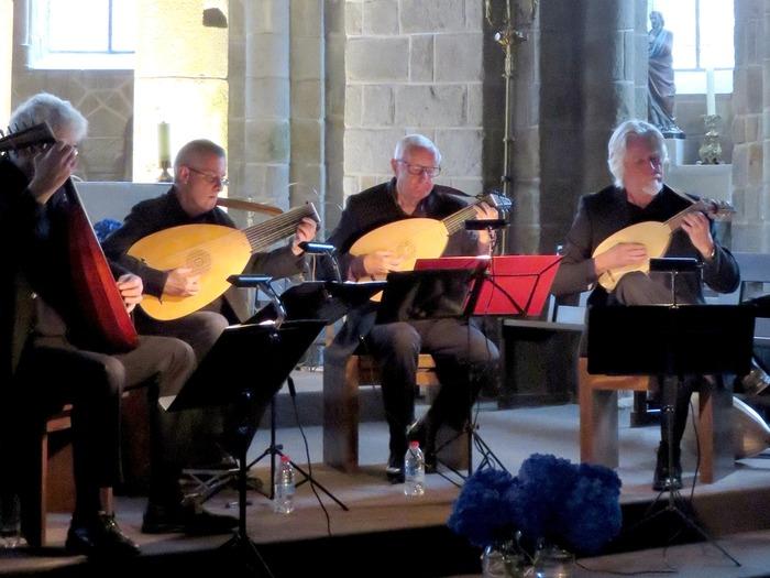 Journées du patrimoine 2018 - Concert d'un quatuor de luthistes