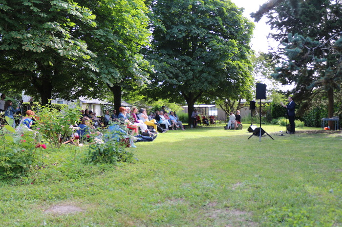 Journées du patrimoine 2018 - Concert au jardin