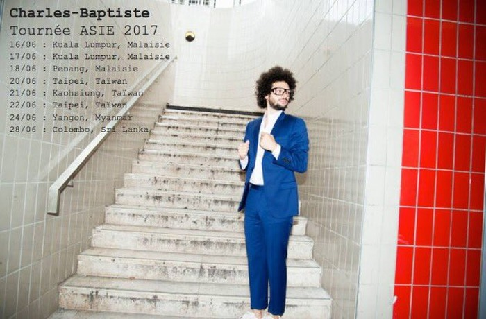 Concert de Charles-Baptiste, French Pop