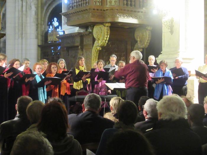 Journées du patrimoine 2018 - Concert de l'ensemble vocal à la cathédrale Saint Maclou