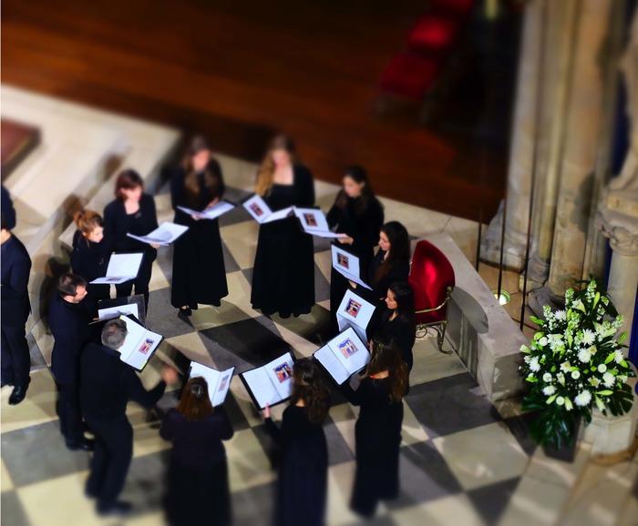Concert de l'Ensemble vocal de Notre-Dame de Paris