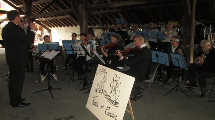 Journées du patrimoine 2018 - Concert de l'Harmonie Vents et Cordes accompagnée de l'Harmonie de Nord sur Erdre