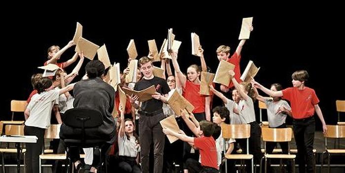 Journées du patrimoine 2018 - Concert de la Maîtrise Populaire de l'Opéra Comique
