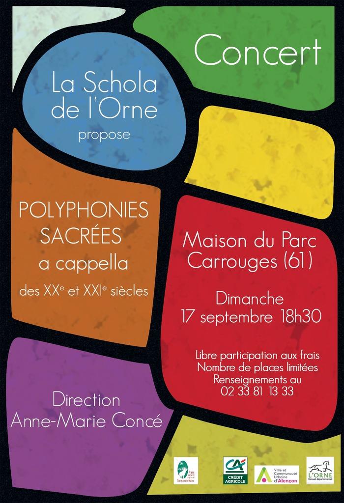 Journées du patrimoine 2017 - Concert de la Scola de l'Orne