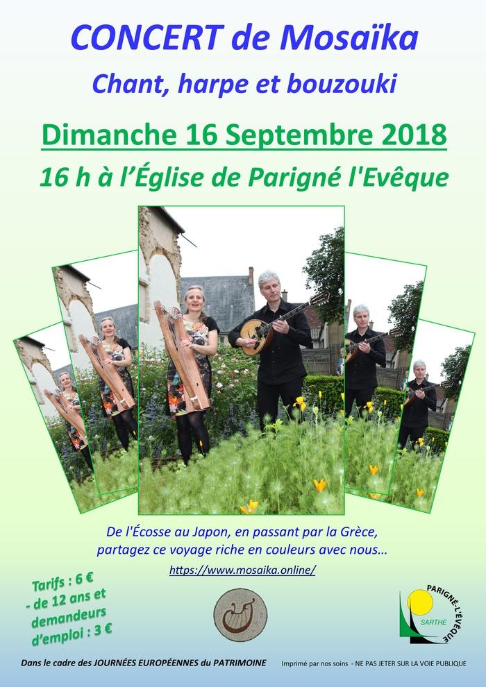 Journées du patrimoine 2018 - Concert de Mosaïka